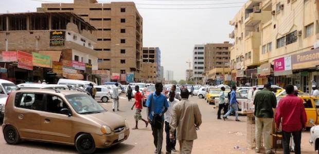 شارع في الخرطوم.