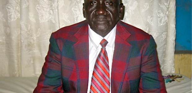 University of Rumbek Deputy Vice Chancellor Michael Maker Mangony, June 2012.