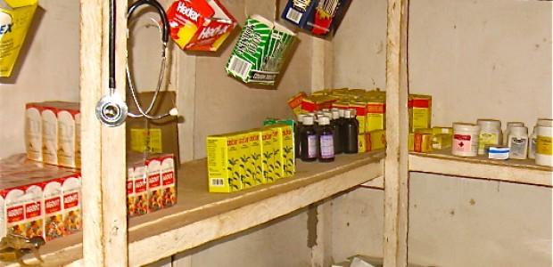 A drug store in Rumbek, August 1.