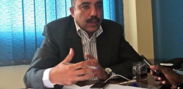 أحمد حسام أثناء الحوار، 5 سبتمبر.
