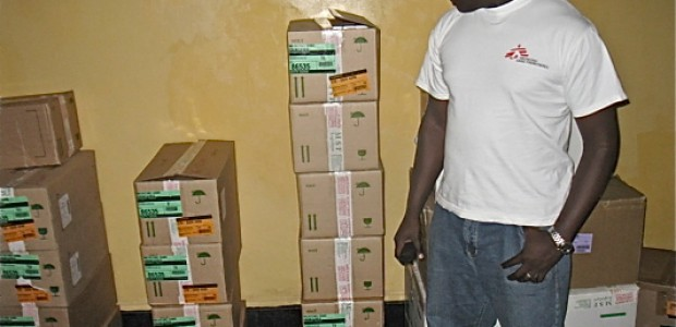 Andrew Mbalal, the MSF deputy medical coordinator in Lakes State, October 19.