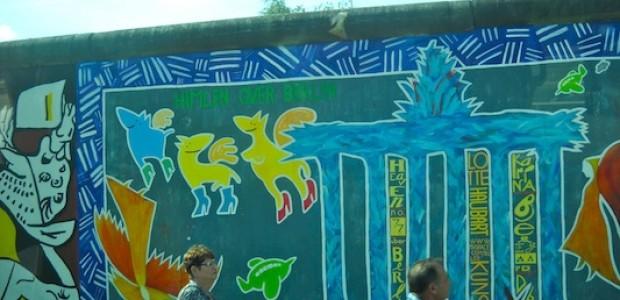 جداريات في برلين.
