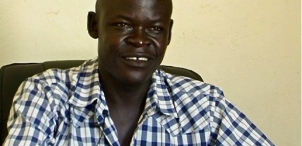 Daga Chaplain, Marketing Manager of the daily 'The Citizen' in his office, September 26, 2011.