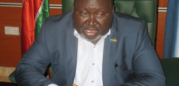 Governor of Lakes State, Chol Tong.