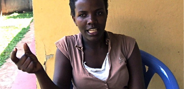 Geraldine Nakakaawa, a business lady in Entebbe disagrees with  the recognition of cohabiting, March 11.