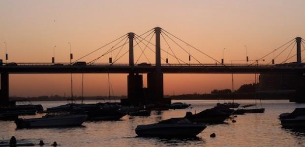 نهر النيل في الخرطوم، 5 مايو.