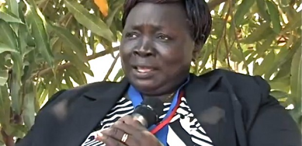H. E. Joy Kwaje Eluzai, Chairperson of the Committee for Information, Telecommunication and Culture in the National Legislative Assembly of South Sudan, December 2012.