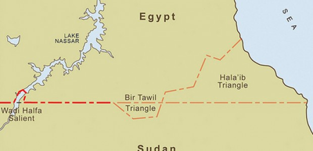 Bir Tawil and the Hala'ib Triangle in the eastern border regions of Sudan and Egypt.