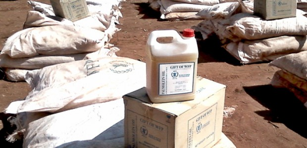 WFP relief items, November 18, 2012.
