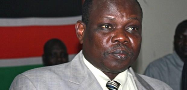 كبير مفاوضي جنوب السودان والأمين العام لحزب الحركة الشعبية باقان أموم هو أحد المستبعدين من الحكومة الجديدة.