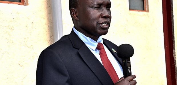 Central Equatoria State Agriculture Minister Michael Roberto Kenyi, July 9.