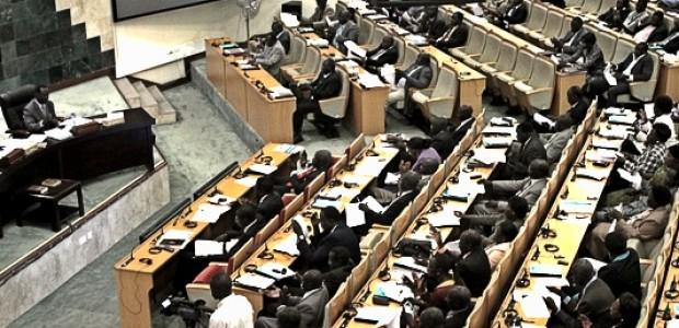 برلمان جنوب السودان.