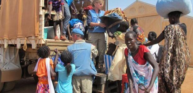 IDPs in Bentiu, January 10.