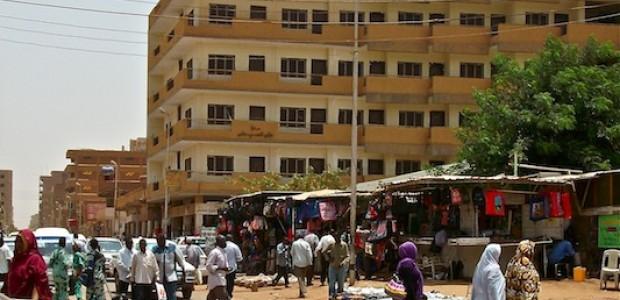 A street in the Sudanese capital Khartoum, March 31, 2012.