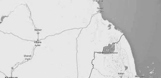 يتم العبور من إريتريا إلى شرق السودان عبر عدد من القرى تقع على الحدود بين البلدين.