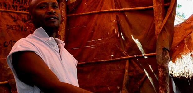 Bashir Kafuma at work in Yei.