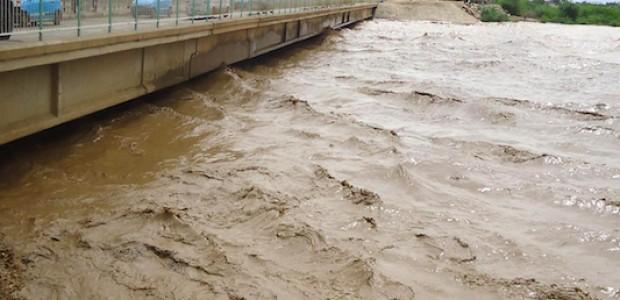 نهر القاش يسجل أعلى منسوب له منذ عقد من الزمان، خامس أغسطس.