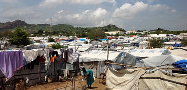 A camp for Internally Displaced People in Juba, South Sudan, August 29.