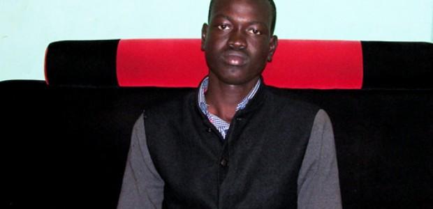 نائب رئيس اتحاد طلاب جنوب السودان في أوغندا، لوال جييل ماغوك، كمبالا، 7 سبتمبر.