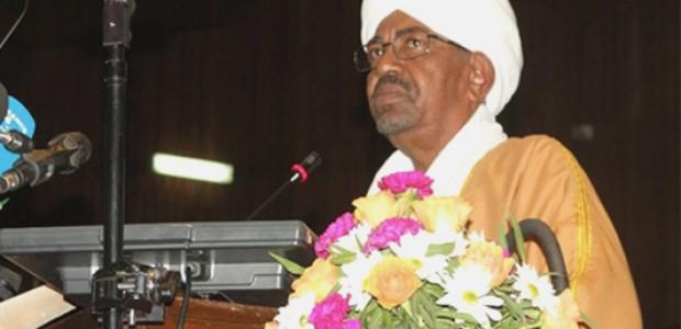Sudanese President Omar Hassan al-Bashir, October 28, 2013.