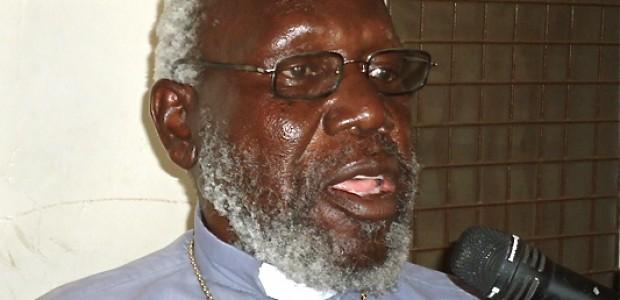 Retired Bishop Paride Taban, February 11, 2013.