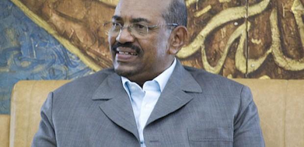 عمر البشير، 28  مارس 2009.