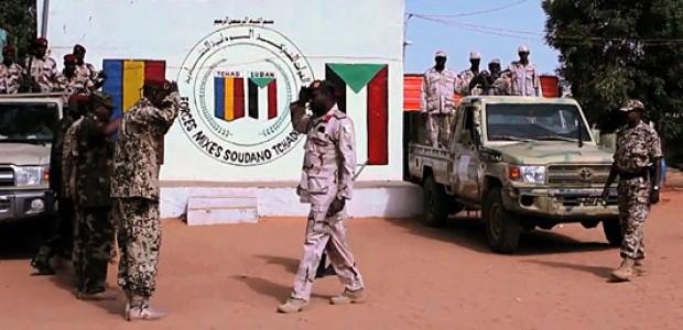 القوة المشتركة التشادية السودانية لحماية الحدود، غرب دارفور، يونيو 2013.