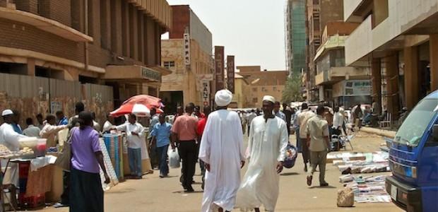 شارع في الخرطوم، 31 مارس، 2012.