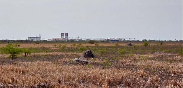 An oil extraction facility in Unity State, South Sudan, June 11, 2012.
