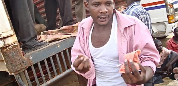 كاسورو فرانسيس، تاجر أوغندي في جوبا.