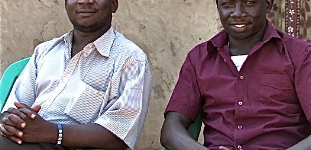 Toti Jacob and Alex Towongo, two Juba students