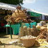 A stall by farmers from Northern Bahr el-Ghazal State during the South Sudan Agricultural Trade Fair, November 27.