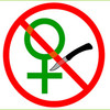 A symbol against genital mutilation.