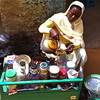 A woman selling tea in El-Fasher market, Darfur, March 17.