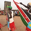 Members of South Sudan's Dinka tribe celebrate their culture in Kaucjok, Warrap State, April 2012.