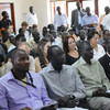 Peace and Stability Quick Impact Fund (PSQIF) announcement in Juba (10.05.2012).