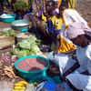 A group of women selling their produce in Kegulu, Yei County, June 2, 2012.