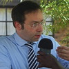 Patrick Meinhardt, member of the German parliament during an interview with Charlton Doki in Juba June 3, 2012.