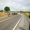Part of the 192 km Juba-Nimule road constructed with support of the Obama administration through the United States Agency for International Development-USAID.