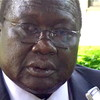South Sudan Minister of Water Resources and Irrigation, Paul Mayom Akec.