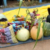 A display of local products at the agriculture fair in Kuajok, November 2.