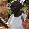 Busuulwa Kayongo, a 61 year old Ugandan, explains why he supports Obama, November 8.