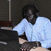 Manyang David Mayar, a reporter for the 'Juba Post' and stringer for VOA's South Sudan In-Focus programme, December 7.