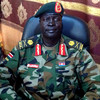 SPLA Fourth Division Commander James Koang Chuol, February 25.