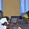 Trainees of the radio production training in Morobo, June 6.