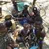 A family displaced by the ongoing violent conflict in South Sudan's Jonglei State, near Pibor.