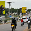 A busy street in Juba, the capital of South Sudan.