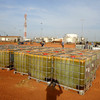 An oil production site in South Sudan's Unity State, November 03.