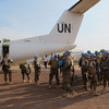 39 peacekeepers from the UNMISS Mongolian Battalion based in Rumbek arrived in Bentiu on December 30, to reinforce UN presence in Unity State.