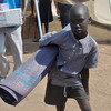 A child displaced by the violence in South Sudan's capital Juba, January 3.